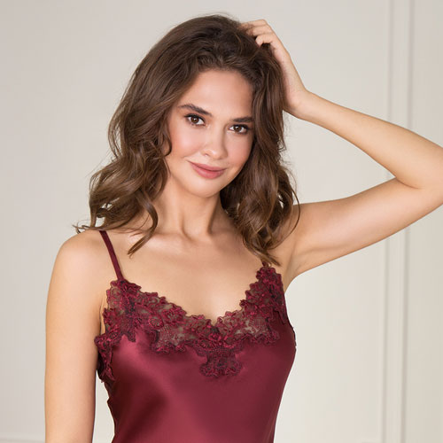 Serie 29, Silk with lace